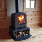 2kw logburner in garden room